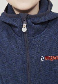 ZIGZAG - Zip-up hoodie - 2048 navy blazer - 3