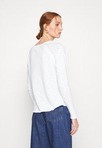 American Vintage - SONOMA - Long sleeved top - blanc - 2