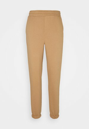 OBJAGNES PANTS - Tracksuit bottoms - chipmunk