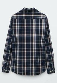 Massimo Dutti - SLIM FIT - Shirt - blue black denim - 3