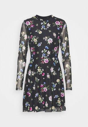 Sukienka letnia - black /blue/rose