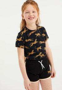 WE Fashion - T-shirt print - black - 1