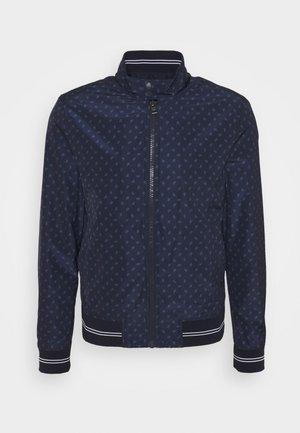 PRINTED HARRINGTON JACKET - Summer jacket - midnight
