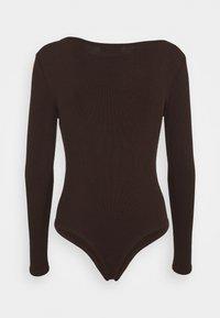 4th & Reckless - PEPPA BODYSUIT - Long sleeved top - brown - 1