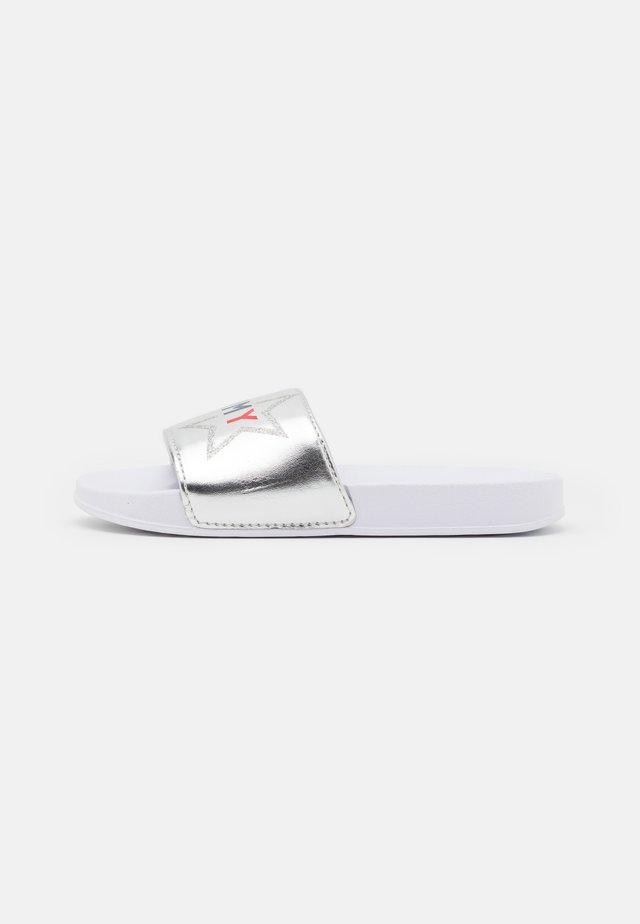 Ciabattine - silver