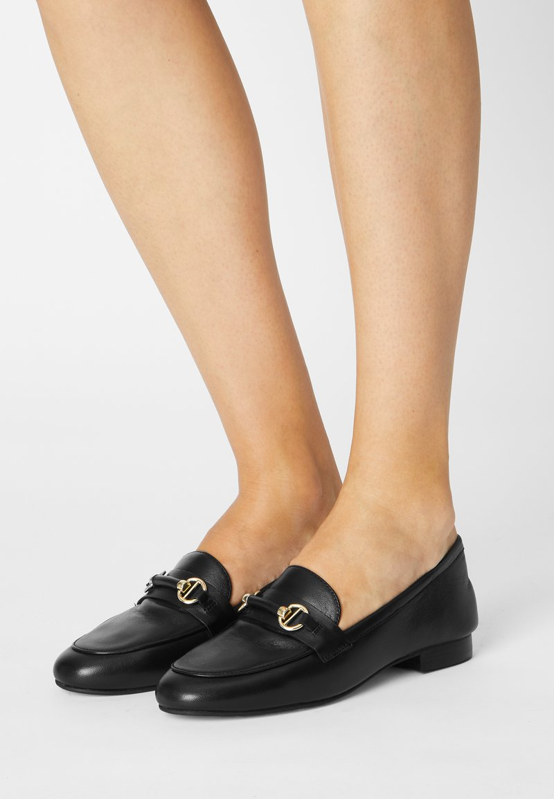 Dune London - GRANGE - Slippers - black