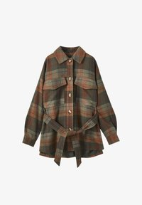 PULL&BEAR - Button-down blouse - green - 2