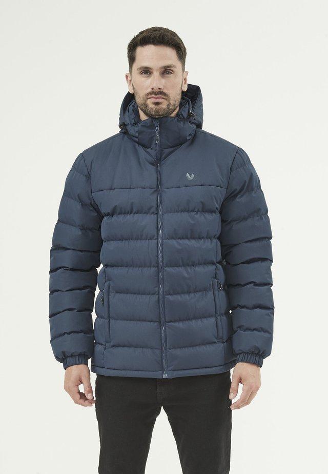 CARSENO - Down jacket - navy blazer