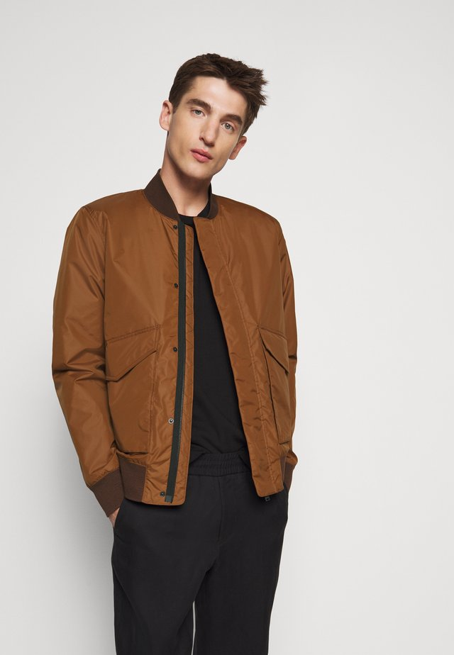 Blouson Bomber - antique wood