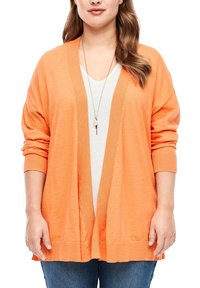 Triangle - MET EEN OPEN VOORPAND - Cardigan - orange - 3