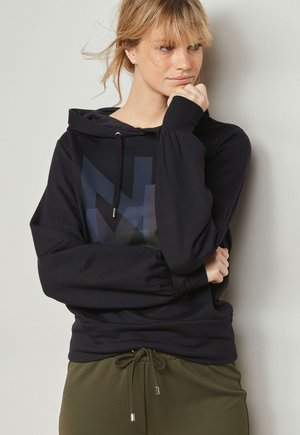 GRAPHIC  - Hoodie - mottled royal blue