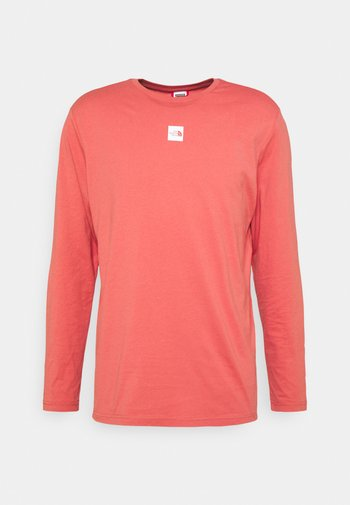 CENTRAL LOGO - Long sleeved top - faded rose