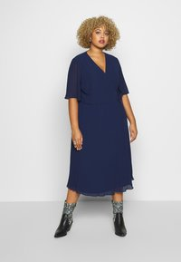 TFNC Curve - BELO MIDI DRESS - Cocktailkjoler / festkjoler - navy - 0