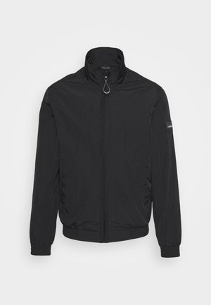 CRINKLE EASY BLOUSON - Summer jacket - black