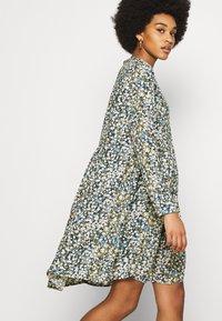 Object - OBJDITSY NELLE DRESS - Shirt dress - blue mirage - 3
