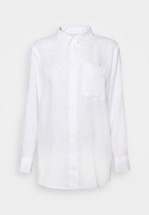 SHIRT - Button-down blouse - fresh white