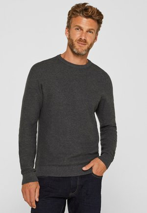HONEYCOMB - Strickpullover - dark grey