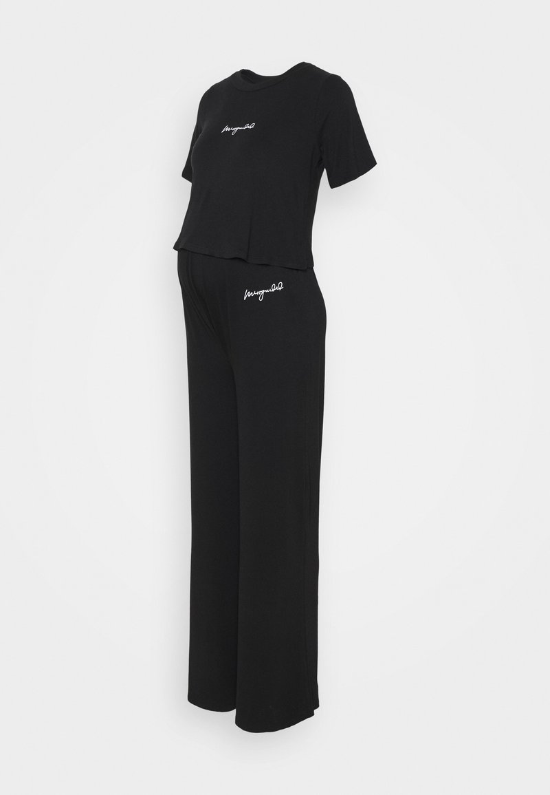 Missguided Maternity - SCRIPT SET - Print T-shirt - black