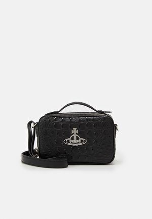 JOHANNA CAMERA BAG - Bolso de mano - black
