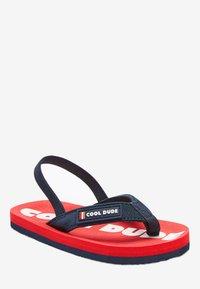 Next - T-bar sandals - red - 1