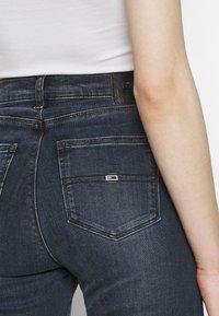 Tommy Jeans - SYLVIA SKNY ABBS - Jeans Skinny - blue-black denim - 3