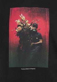 Carhartt WIP - BOUQUET - T-shirt con stampa - black - 2