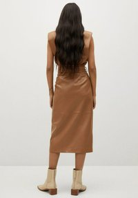 Mango - CARLO-I - Wrap skirt - marron - 1