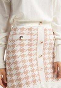 faina - A-line skirt - weiss beige - 3