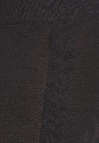 MAMALICIOUS - MLAMAJA ACTIVE TIGHTS - Leggingsit - black/leo pattern - 2