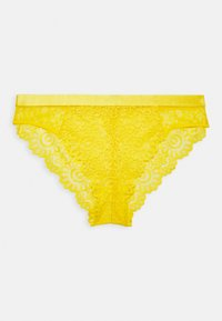EVERY NIGHT CUT OUT BRAZILIAN BRIEF - Briefs - yellow