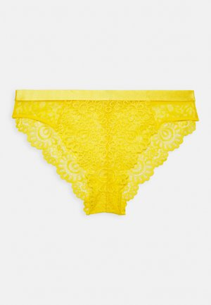 EVERY NIGHT CUT OUT BRAZILIAN BRIEF - Underbukse - yellow