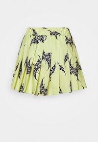 NEW girl ORDER - REPEAT TRIBAL BUTTERFLY  - Mini skirt - yellow - 1
