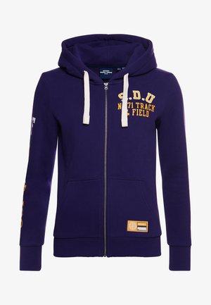 COLLEGIATE ATHLETIC  - Zip-up hoodie - parachute purple