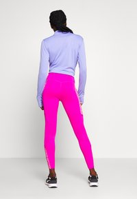 Nike Performance - FAST 7/8 - Leggings - fire pink/white - 2