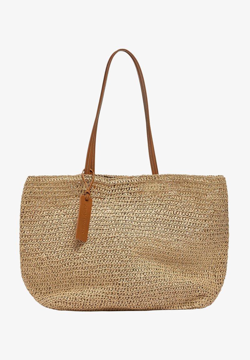 PULL&BEAR - Tote bag - light brown