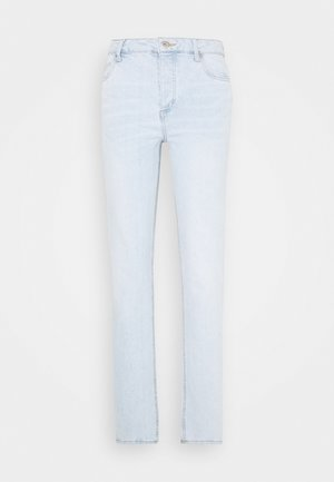 HIGH STRETCH - Straight leg -farkut - light-blue denim