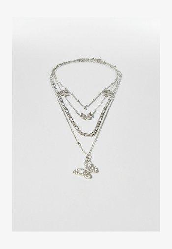 SET - Necklace - silver-coloured