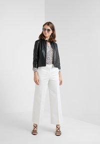 MAX&Co. - DENOTARE - Leather jacket - black - 1