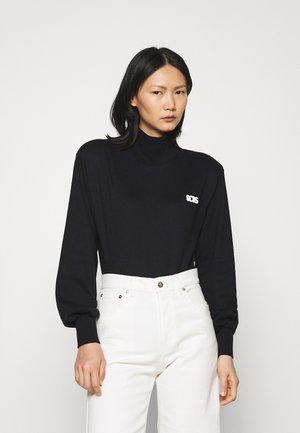 LUXURY GILDA - Long sleeved top - black