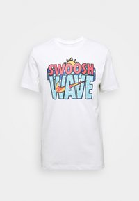 Nike Sportswear - TEE SUMMER WAVE - Print T-shirt - white - 3
