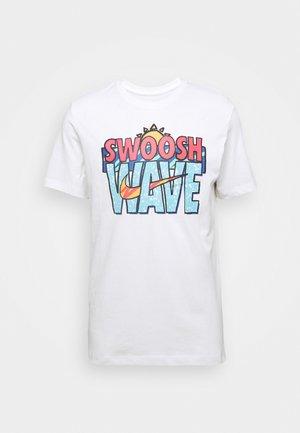 TEE SUMMER WAVE - Print T-shirt - white