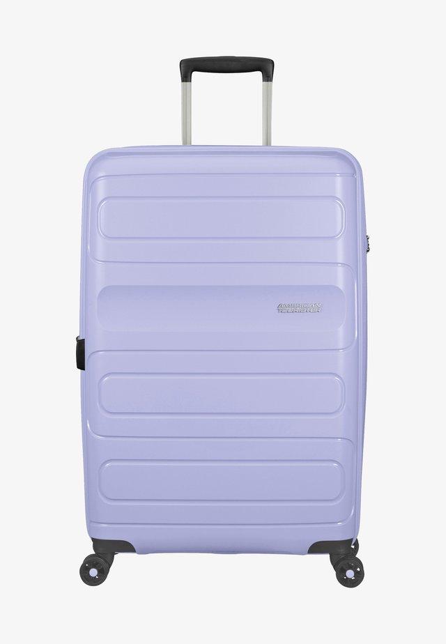 SUNSIDE - Wheeled suitcase - pastel blue