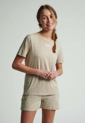 T-shirt basique - humus melange