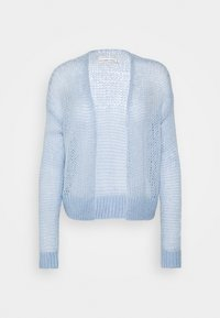 Abercrombie & Fitch - LOUISE OPEN STITCH  - Cardigan - blue - 0