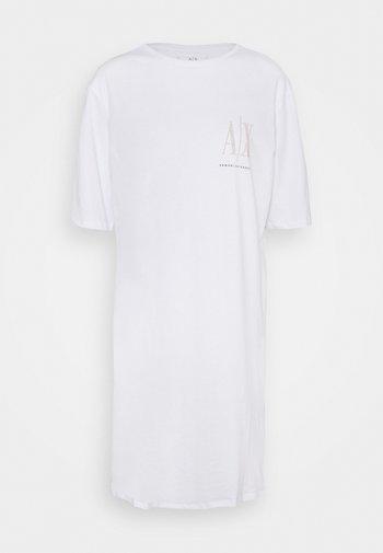 VESTITO - Jersey dress - white