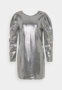 Gina Tricot - AUGUSTA SEQUINS DRESS EXCLUSIVE - Cocktail dress / Party dress - silver - 5