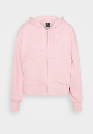 DRY GET FIT  - veste en sweat zippée - pink glaze/white