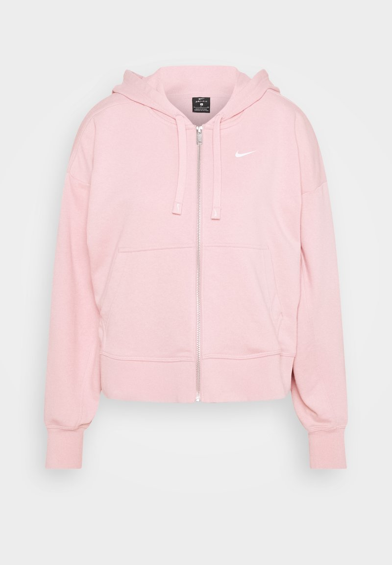 Nike Performance - DRY GET FIT  - Zip-up hoodie - pink glaze/white