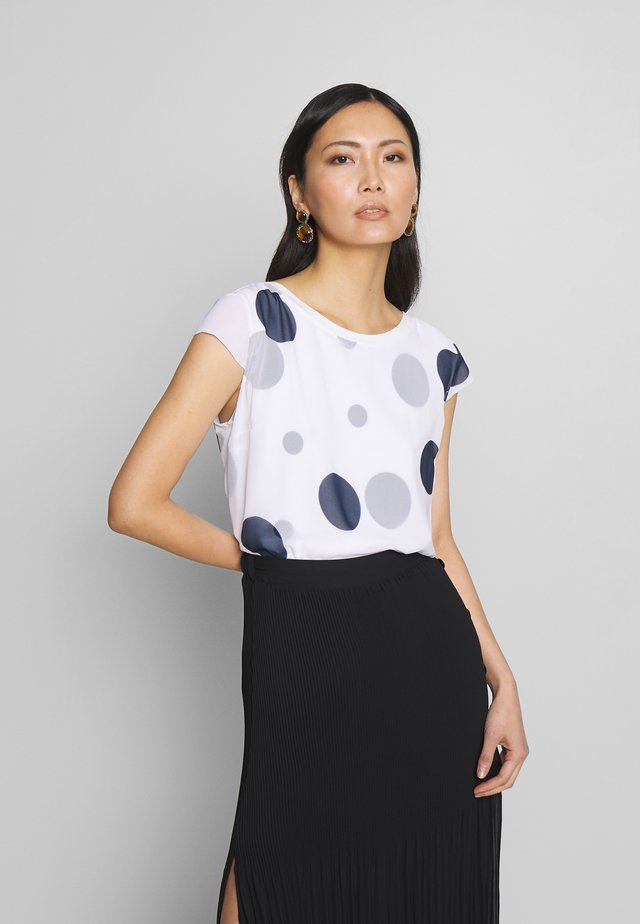 MASSTAB - Blouse - white/blue