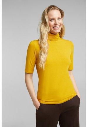 Print T-shirt - honey yellow